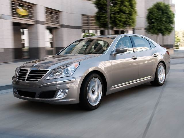 Top Consumer Rated Sedans of 2011 - 2011 Hyundai Equus