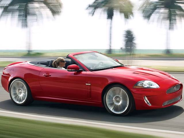 Highest Horsepower Convertibles of 2011 - 2011 Jaguar XK