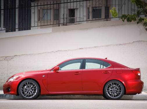 Most Popular Luxury Vehicles of 2011 - 2011 Lexus IS F