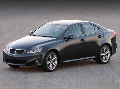 Most Popular Luxury Vehicles of 2011 - 2011 Lexus IS