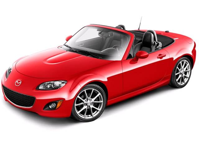 Most Fuel Efficient Convertibles of 2011 - 2011 MAZDA MX-5 Miata