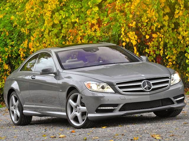 Top Consumer Rated Coupes of 2011 - 2011 Mercedes-Benz CL-Class