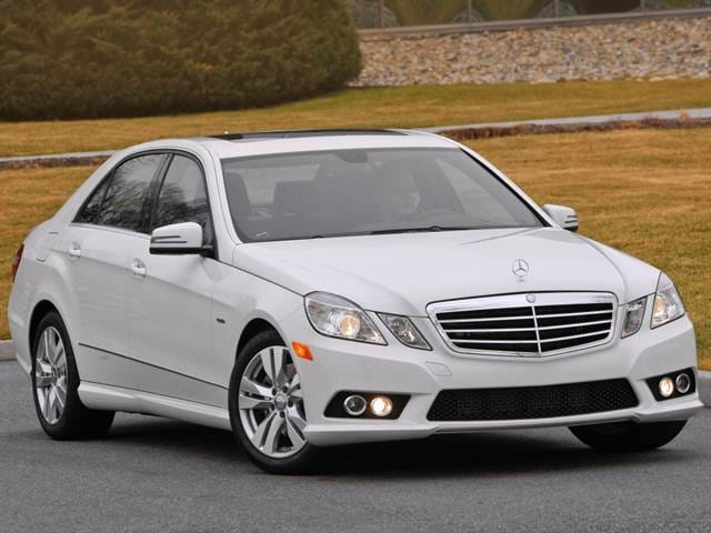 Highest Horsepower Sedans of 2011 - 2011 Mercedes-Benz E-Class