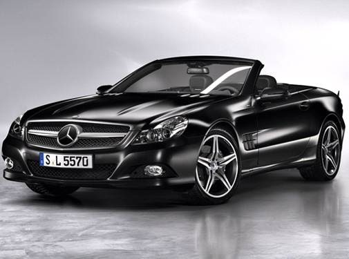 Highest Horsepower Convertibles of 2011 - 2011 Mercedes-Benz SL-Class