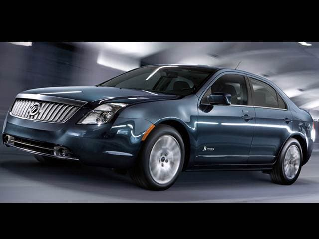 Top Consumer Rated Hybrids of 2011 - 2011 Mercury Milan