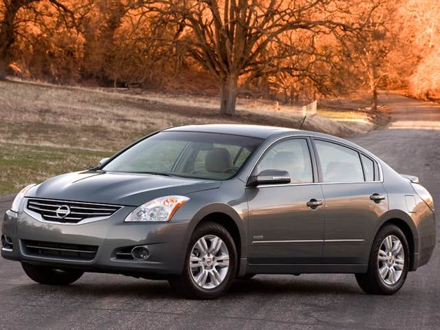 Top Expert Rated Hybrids of 2011 - 2011 Nissan Altima