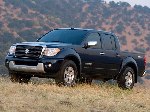 Top Consumer Rated Trucks of 2011 - 2011 Suzuki Equator Crew Cab