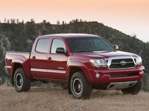 Most Popular Trucks of 2011 - 2011 Toyota Tacoma Double Cab