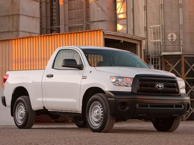 Most Popular Trucks of 2011 - 2011 Toyota Tundra Regular Cab