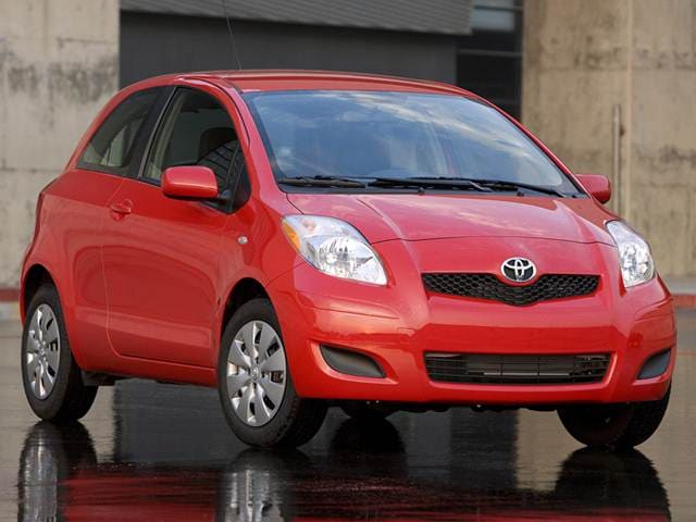 Most Fuel Efficient Coupes of 2011 - 2011 Toyota Yaris