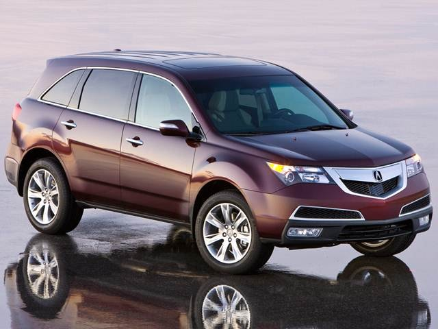 Top Expert Rated SUVS of 2012 - 2012 Acura MDX