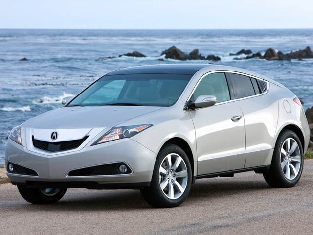 Top Consumer Rated Crossovers of 2012 - 2012 Acura ZDX