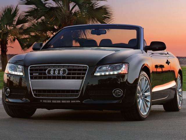 Top Expert Rated Convertibles of 2012 - 2012 Audi A5