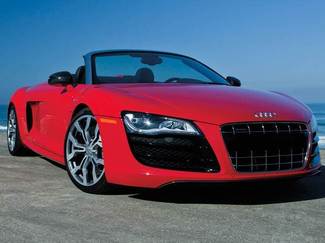 Highest Horsepower Convertibles of 2012 - 2012 Audi R8