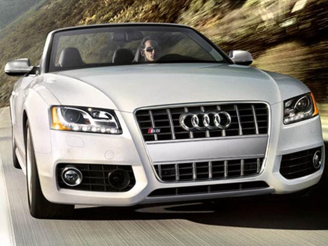 Top Consumer Rated Convertibles of 2012 - 2012 Audi S5