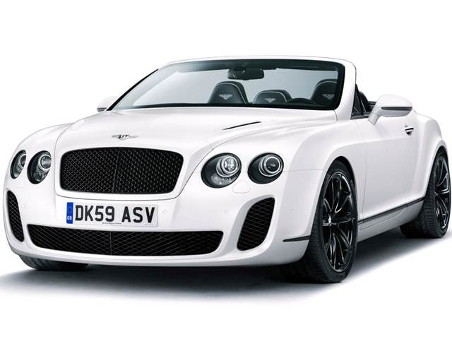 Highest Horsepower Convertibles of 2012 - 2012 Bentley Continental