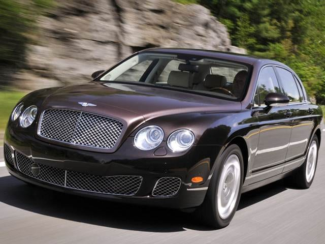 Top Consumer Rated Sedans of 2012 - 2012 Bentley Continental
