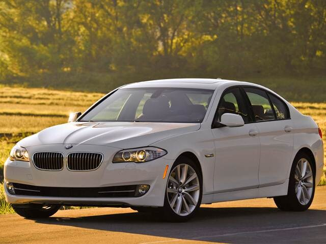 Best Safety Rated Sedans of 2012 - 2012 BMW 5 Series