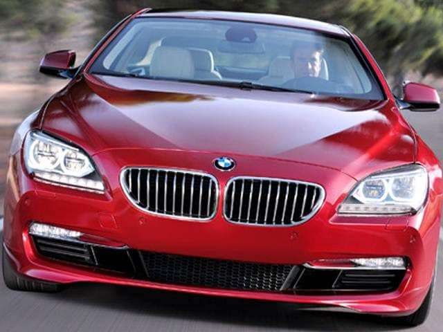 Top Expert Rated Coupes of 2012 - 2012 BMW 6 Series