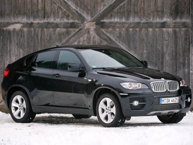 Top Consumer Rated Crossovers of 2012 - 2012 BMW X6