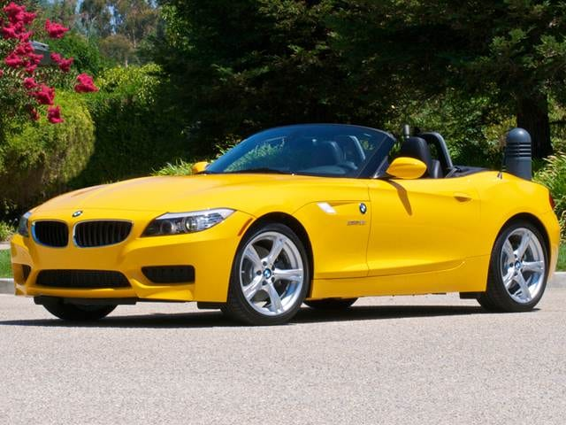 Most Fuel Efficient Convertibles of 2012 - 2012 BMW Z4