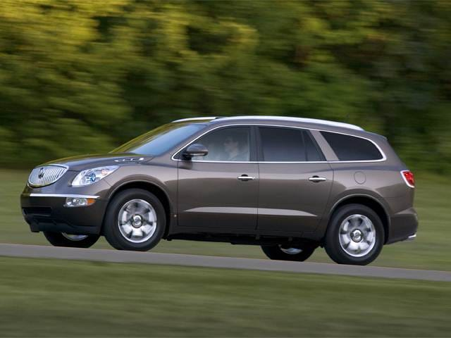 Best Safety Rated SUVS of 2012 - 2012 Buick Enclave