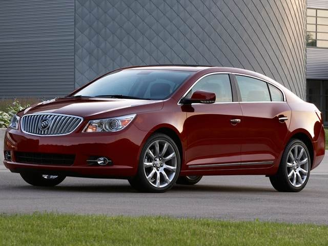 Most Fuel Efficient Luxury Vehicles of 2012 - 2012 Buick LaCrosse