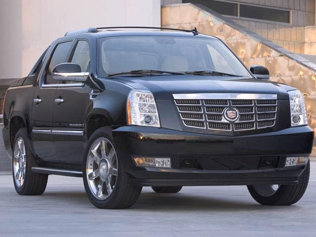 Highest Horsepower SUVS of 2012 - 2012 Cadillac Escalade EXT