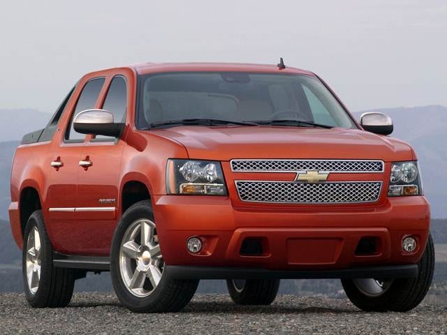 Top Consumer Rated SUVS of 2012 - 2012 Chevrolet Avalanche