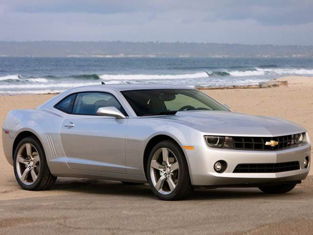 Most Popular Coupes of 2012 - 2012 Chevrolet Camaro