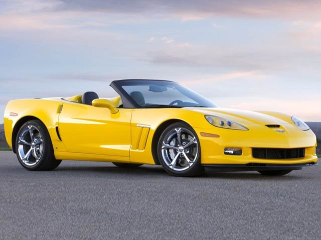 Most Popular Convertibles of 2012 - 2012 Chevrolet Corvette