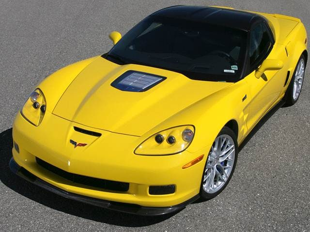 Most Popular Coupes of 2012 - 2012 Chevrolet Corvette