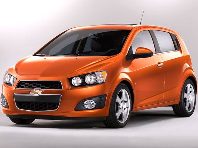 Best Safety Rated Hatchbacks of 2012 - 2012 Chevrolet Sonic