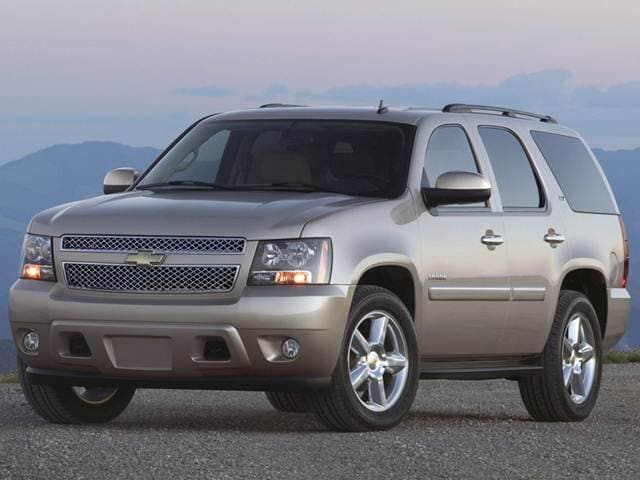 Most Popular SUVS of 2012 - 2012 Chevrolet Tahoe