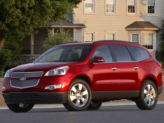 Top Expert Rated SUVS of 2012 - 2012 Chevrolet Traverse