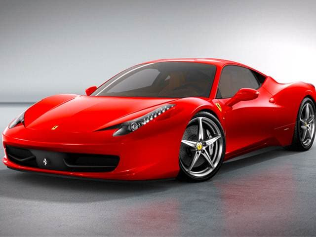 Top Consumer Rated Luxury Vehicles of 2012 - 2012 Ferrari 458 Italia