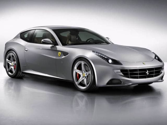 Top Consumer Rated Luxury Vehicles of 2012 - 2012 Ferrari FF