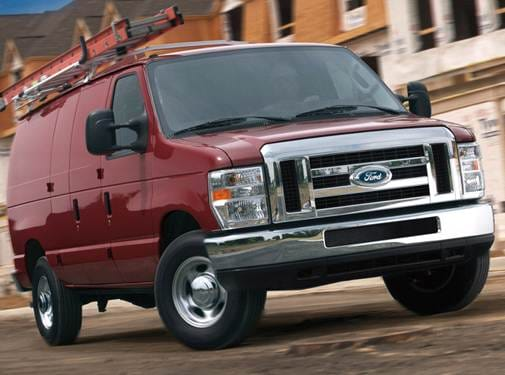 Top Consumer Rated Van/Minivans of 2012 - 2012 Ford E350 Super Duty Cargo