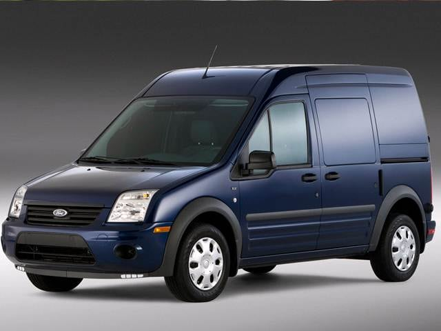 Best Safety Rated Van/Minivans of 2012 - 2012 Ford Transit Connect Cargo