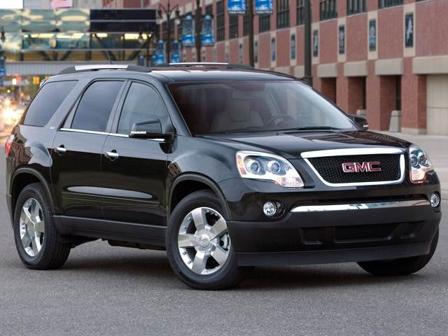 Top Expert Rated Crossovers of 2012 - 2012 GMC Acadia