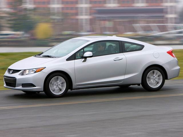 Best Safety Rated Coupes of 2012 - 2012 Honda Civic