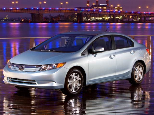 Most Fuel Efficient Sedans of 2012 - 2012 Honda Civic