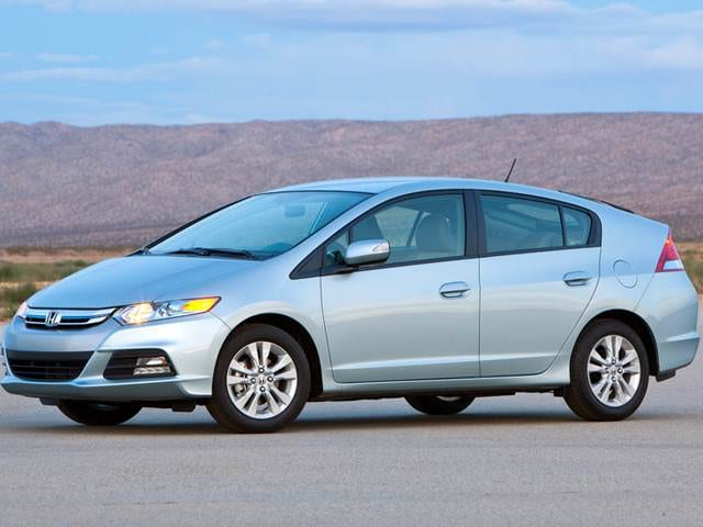Most Fuel Efficient Sedans of 2012 - 2012 Honda Insight