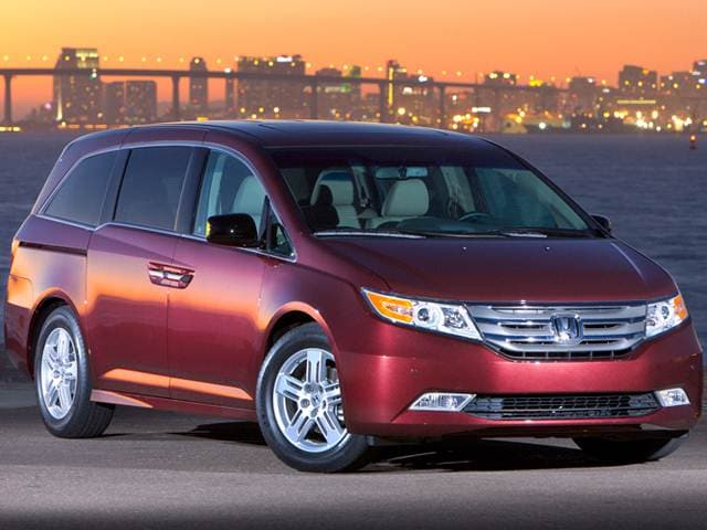 Best Safety Rated Van/Minivans of 2012 - 2012 Honda Odyssey
