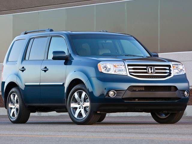 Top Expert Rated Crossovers of 2012 - 2012 Honda Pilot
