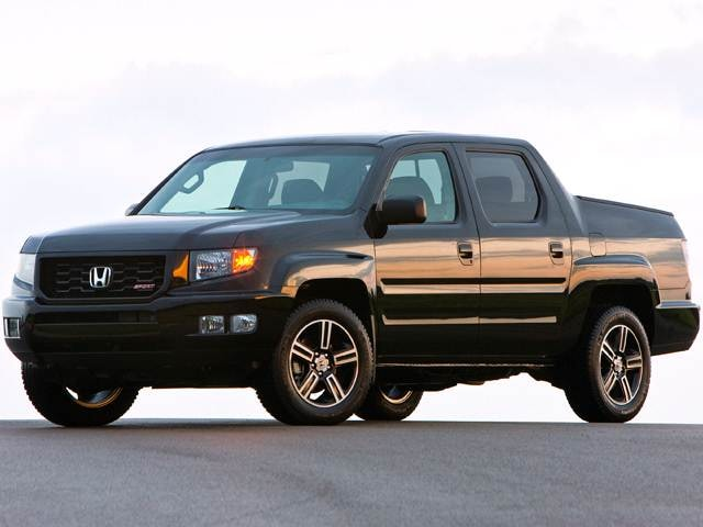 Top Consumer Rated Crossovers of 2012 - 2012 Honda Ridgeline
