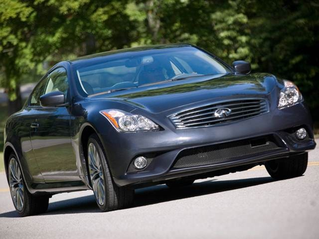 Most Popular Coupes of 2012 - 2012 INFINITI G
