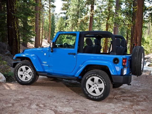 Most Popular SUVS of 2012 - 2012 Jeep Wrangler