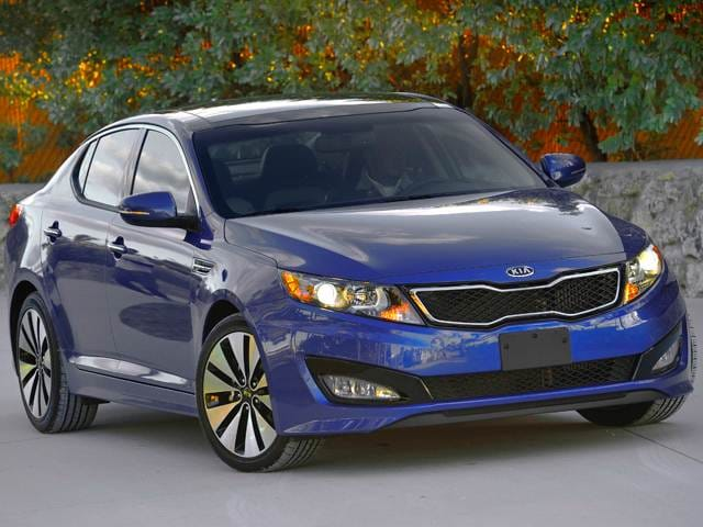 Best Safety Rated Sedans of 2012 - 2012 Kia Optima
