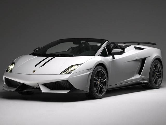 Highest Horsepower Convertibles of 2012 - 2012 Lamborghini Gallardo